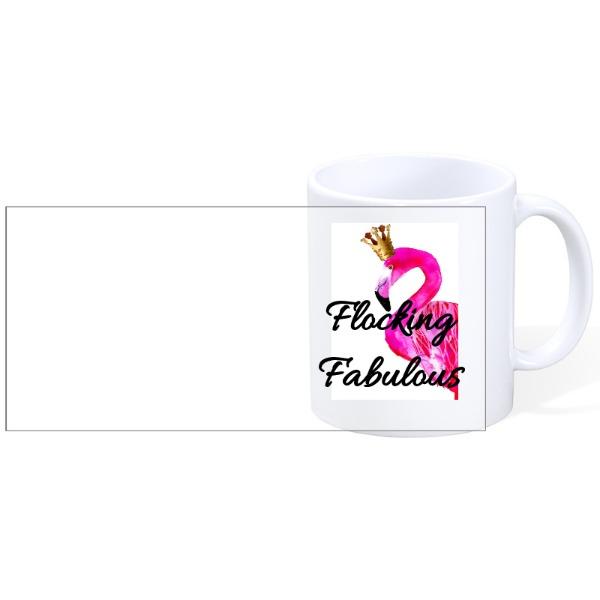 Flocking Fab - Flocking Fab - Mug Ceramic White 11oz