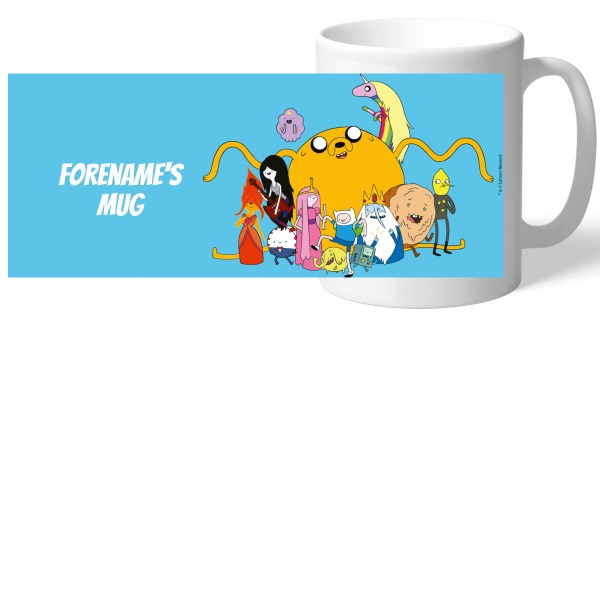 Adventure Time Big Group Mug