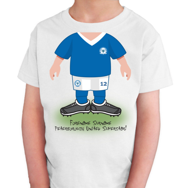 Peterborough United FC Kids Use Your Head T-Shirt