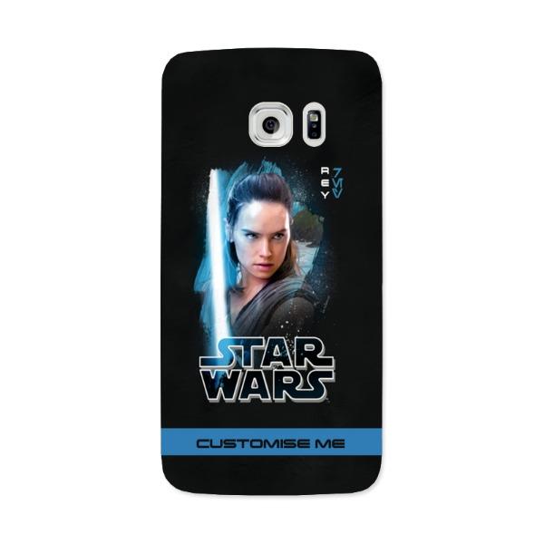 Star Wars Rey Last Jedi Spray Paint Samsung Galaxy 7 Edge Phone Case