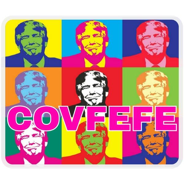 Covfefe Trump Mousepad - Mousepad