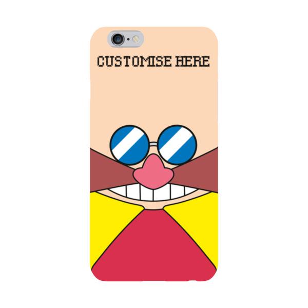 iPhone 6 Plus/6S Plus Case - Eggman Face - Classic Sonic