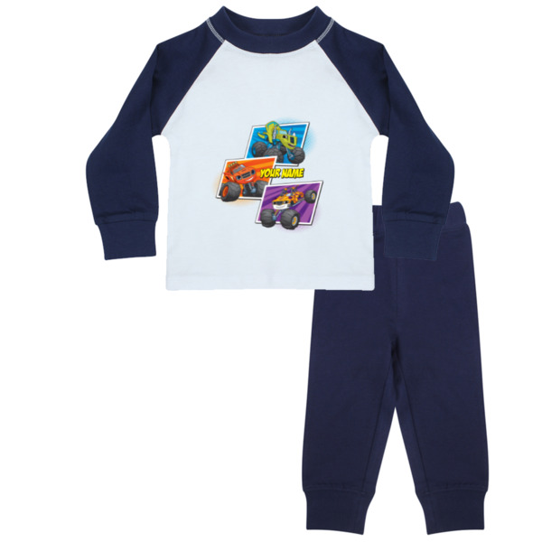 Blaze and the Monster Machines Kids Pyjamas - Zeg, Blaze and Stripes