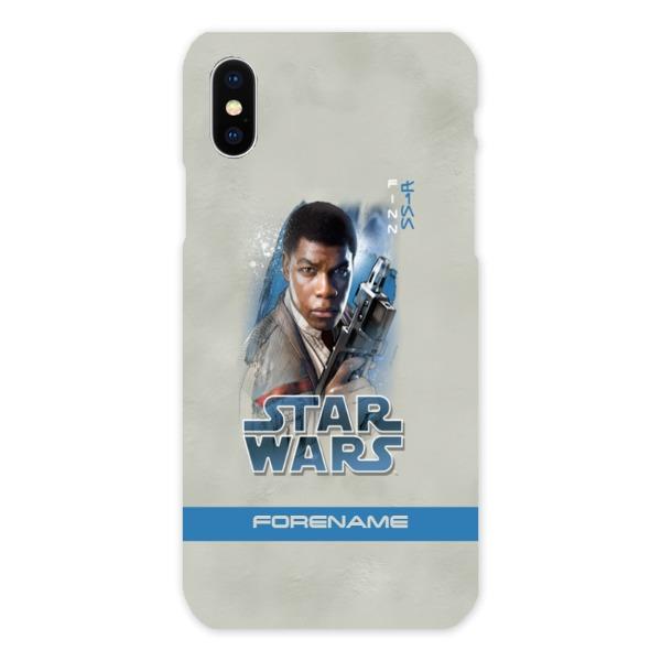 Star Wars Finn Last Jedi Spray Paint iPhone X Hard Back Phone Case