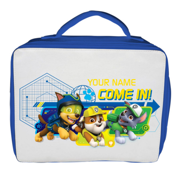 Paw Patrol Personalised Lunch Bag - Spy Rubble & Co