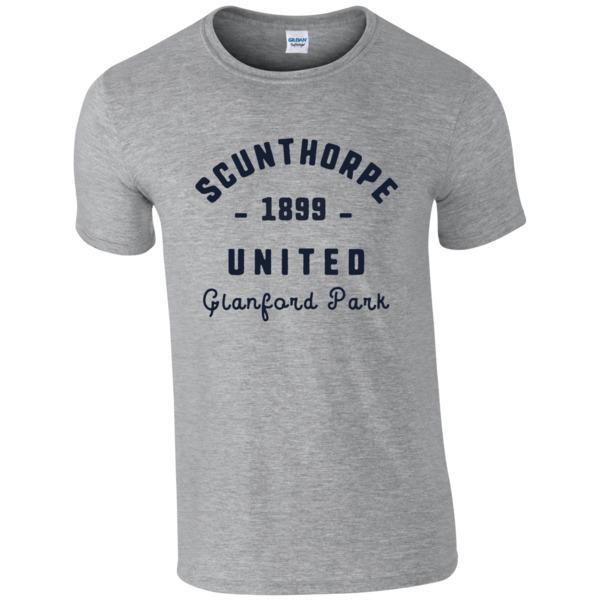 Scunthorpe United FC Stadium Vintage T-Shirt