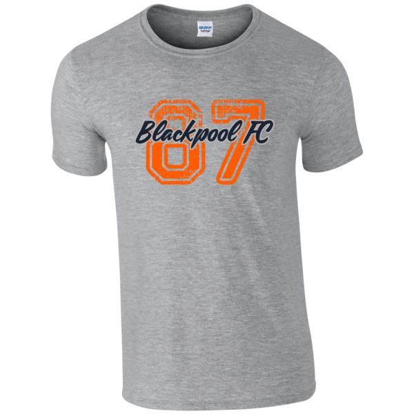 Blackpool FC Varsity Number T-Shirt