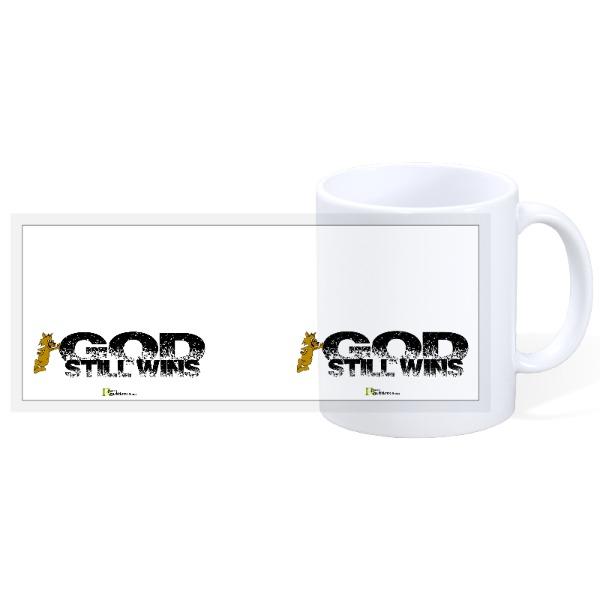 GOD Still Wins - 11oz Ceramic Mug
