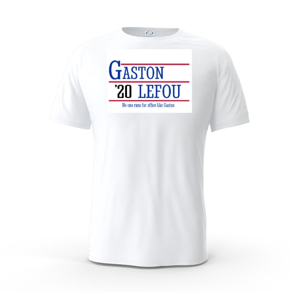 Gaston 2020 Shirt - Mens Solar Short Sleeve Small Print Area