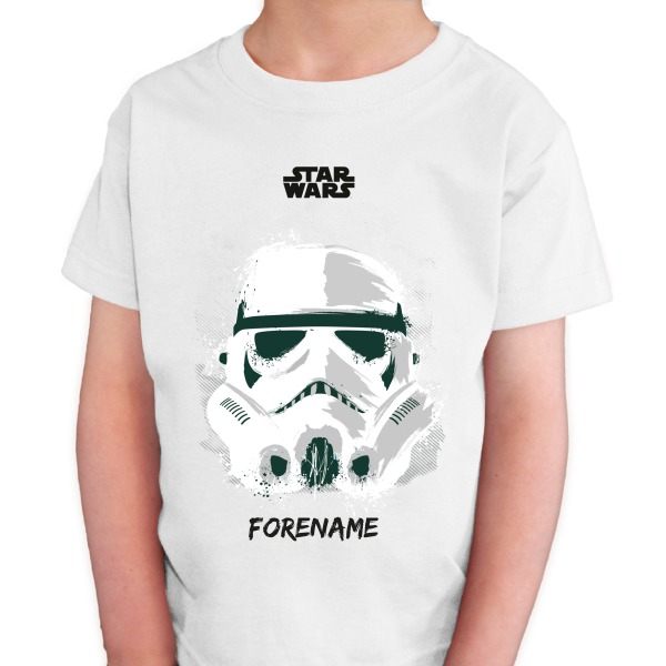 Star Wars Storm Trooper Paint  Kids T-Shirt