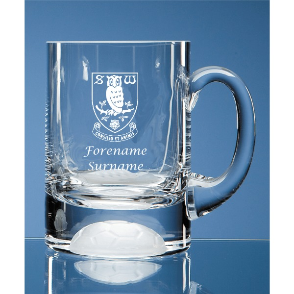 Sheffield Wednesday FC Ball Base Tankard