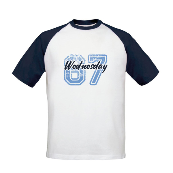Sheffield Wednesday FC Varsity Number Baseball T-Shirt