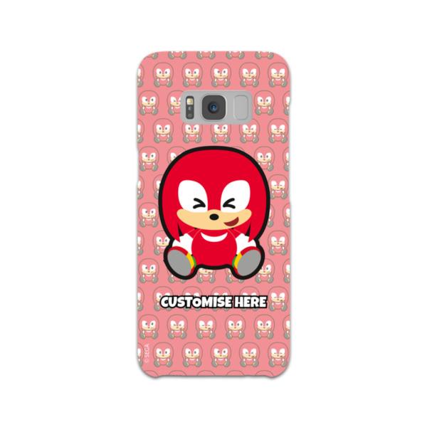 Samsung Galaxy S8 Phone Case - Knuckles Emoji - Modern Sonic