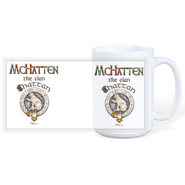 the clan CHATTAN - 15oz Ceramic Mug