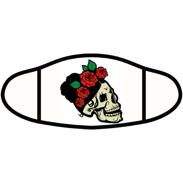 Day of the dead - Face Mask- Small