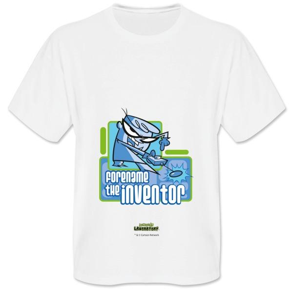 Dexter's Lab Inventor Mens T-shirt