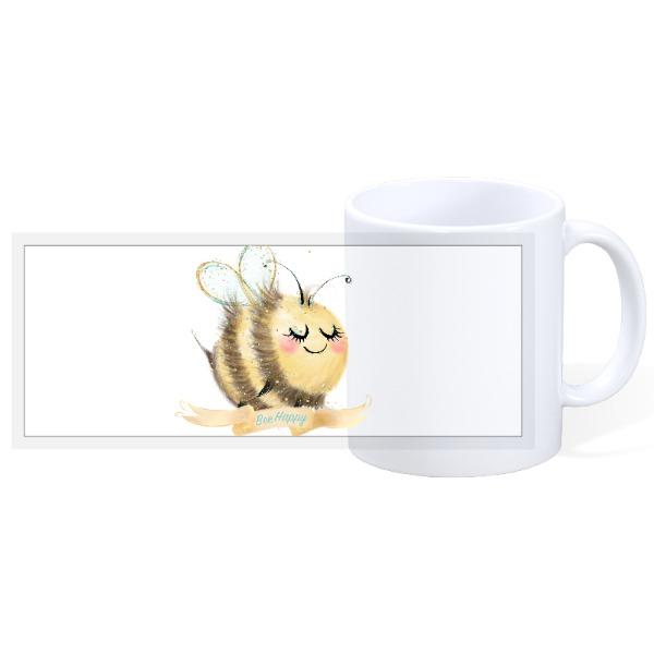 Bee happy - 11oz Ceramic Mug