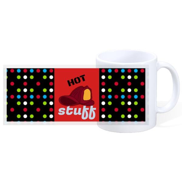 HOT STUFF - 11oz Ceramic Mug