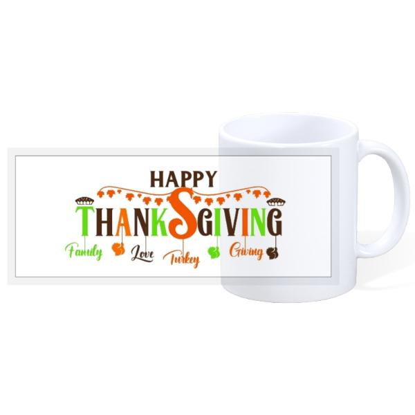 Thanksgiving Mug - 11oz Ceramic Mug