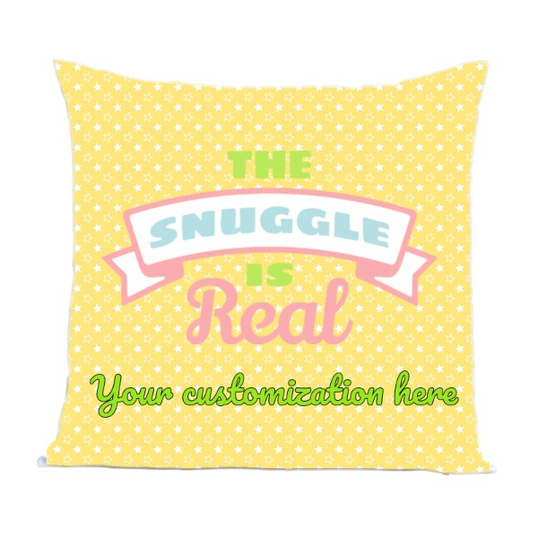 SNUGGLE - Pillow Cover Polyester Canvas Square 40cm