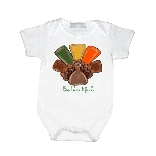 Be Thankful Turkey - Baby One Piece