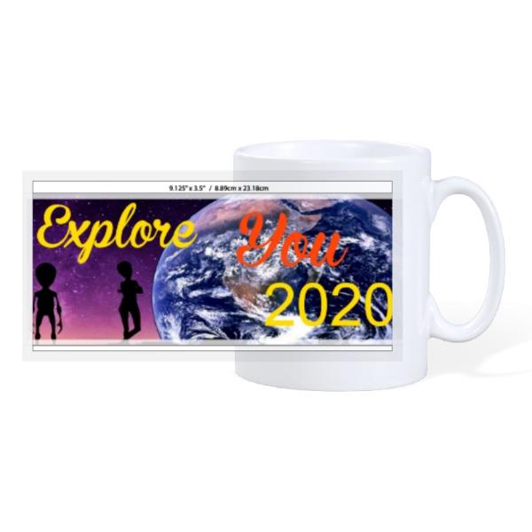 Explore - 10oz Ceramic Mug