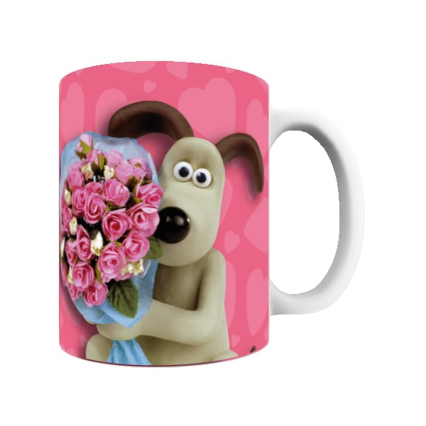 "Aardman Wallace And Gromit ""Be My Valentine"" Mug"