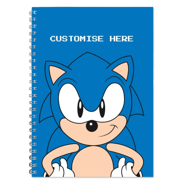 A5 Notebook - Sonic Face - Classic Sonic