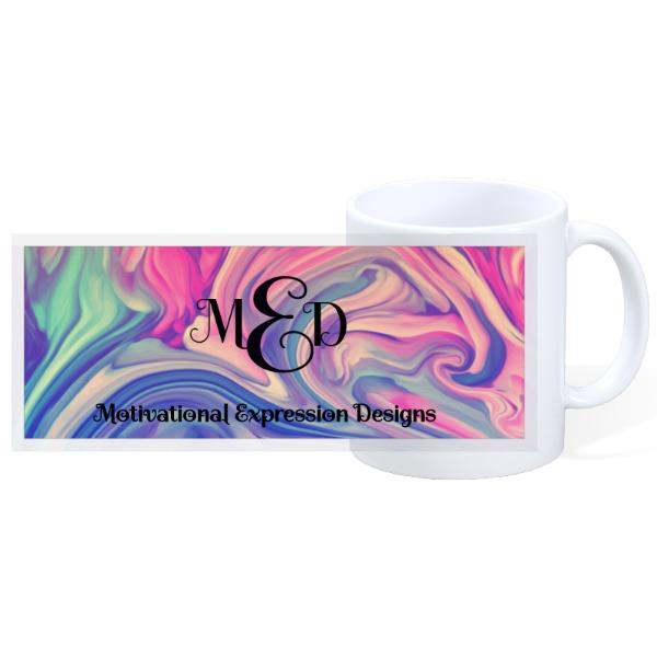 Monogram Design - 11oz Ceramic Mug