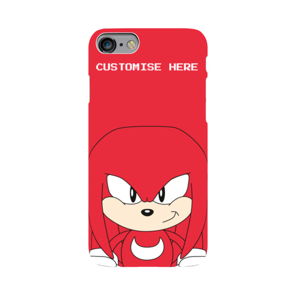 iPhone 7 Case - Knuckles Face - Classic Sonic