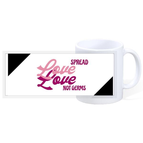 SPREAD LOVE - 11oz Ceramic Mug
