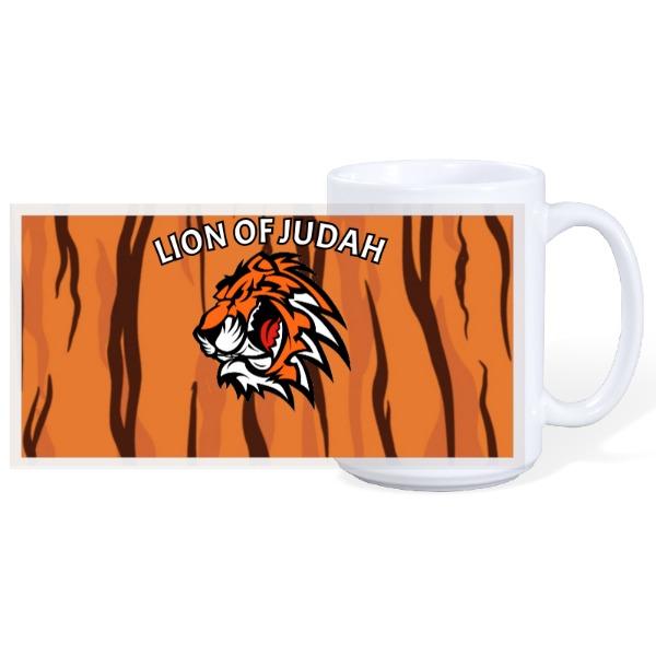 LION OF JUDAH MUG - 15oz Ceramic Mug