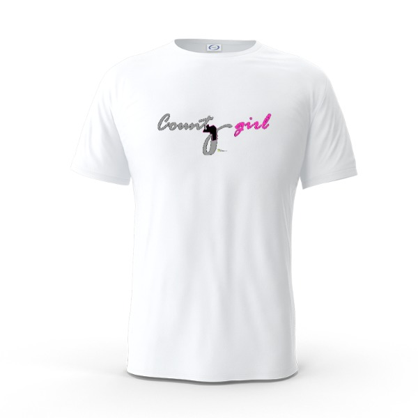 County girl - Mens Solar Short Sleeve Small Print Area