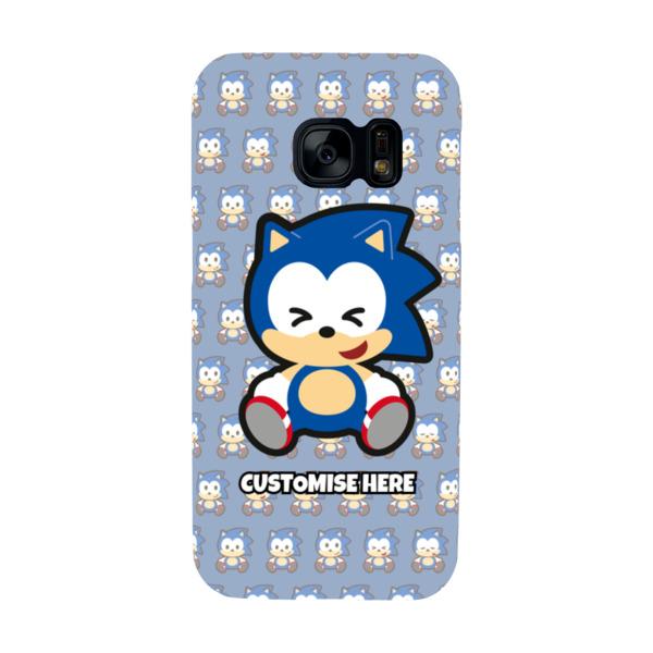 Samsung Galaxy S7 Phone Case - Sonic Emoji - Modern sonic