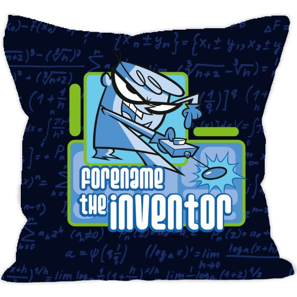 Dexter's Lab Inventor Cushion