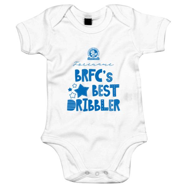 Blackburn Rovers FC Best Dribbler Baby Bodysuit