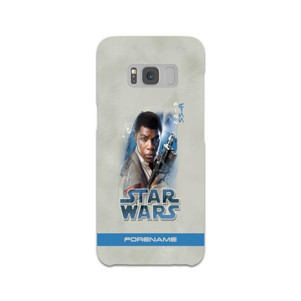 Star Wars Finn Last Jedi Spray Paint Samsung Galaxy S8 Hard Back Phone Case