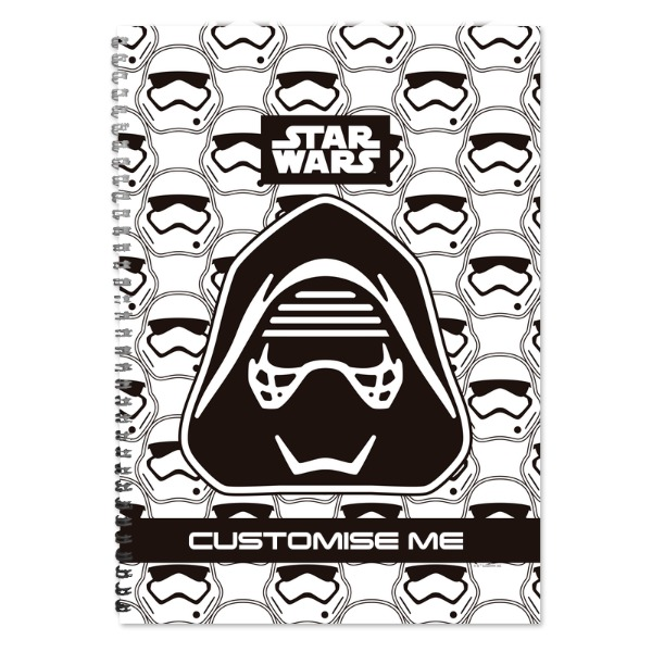 Star Wars Kylo Ren Icon A4 Notebook