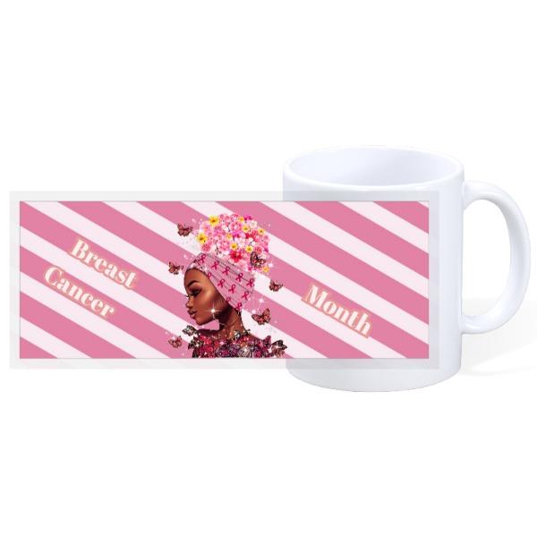 Breast Cancer Warrior - 11oz Ceramic Mug