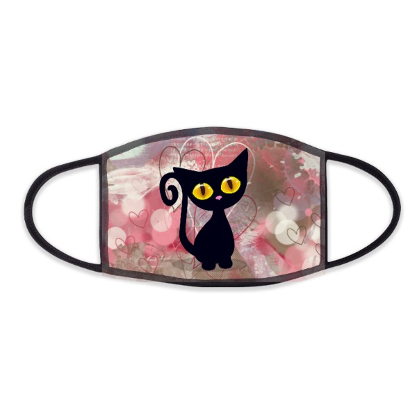 cat face mask  - Face Mask- Small