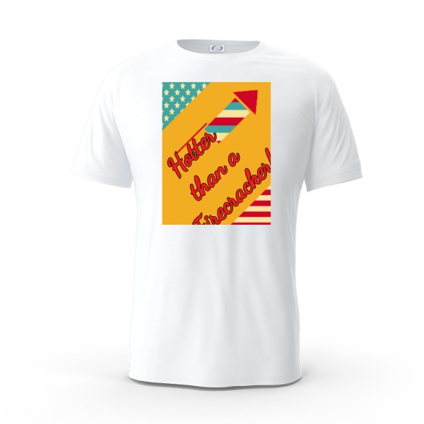 Firecracker tee - Mens Solar Short Sleeve