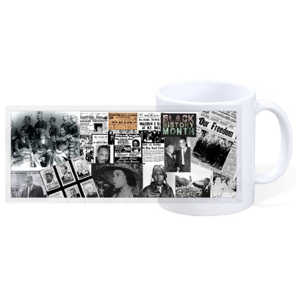 BLACK HISTORY - Mug Ceramic White 11oz