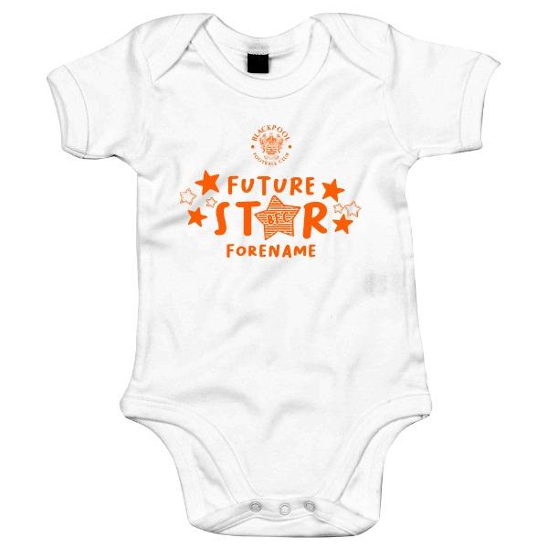 Blackpool FC Future Star Baby Bodysuit