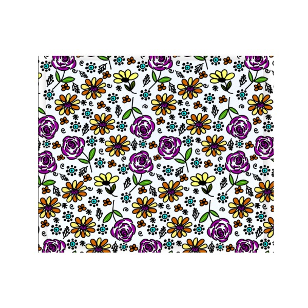 Fun Flowers Mousepad - Mousepad