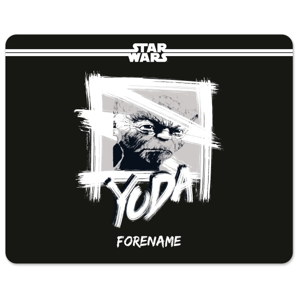 Star Wars Yoda Paint  Mouse Mat