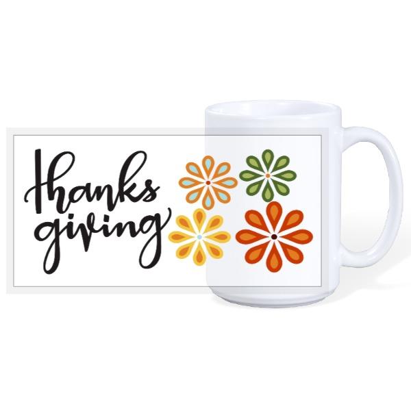 Thanksgiving Mug - 15oz Ceramic Mug