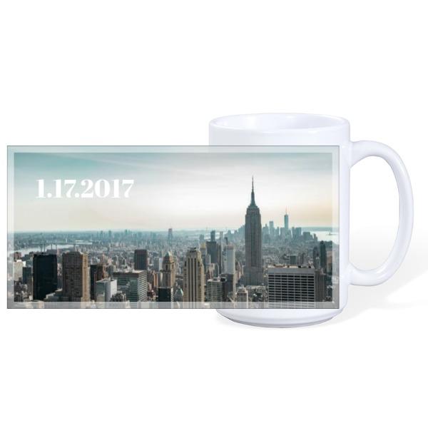Engagement City Mug - Ceramic Mug