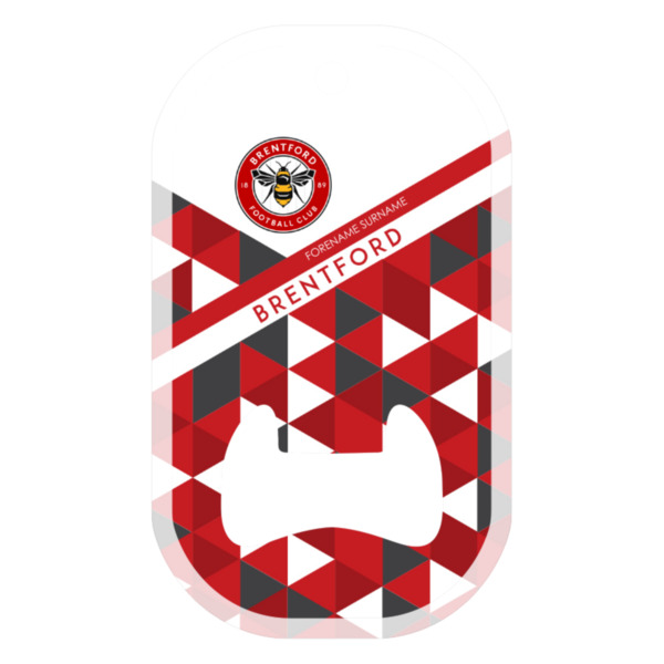 Brentford FC Patterned Compact Bottle Opener