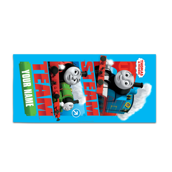 Thomas & Friends Personalised Towel - Steam Team