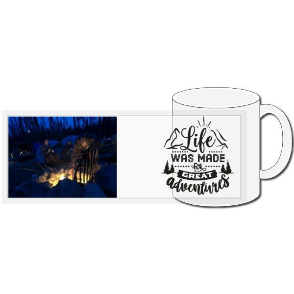 Life is an Adventure - 11oz Ceramic Mug